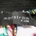 MODSTROM mini rozszerzana spódnica zip kwiaty 38