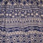 niebieskie wzory