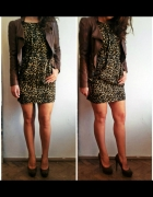 Classic panter print with brown details...