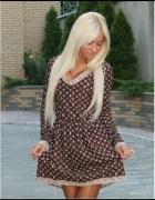 LV styl Louis Vuitton cudo sukienka różne rozmiary