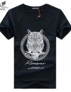 Czarny tshirt z sową