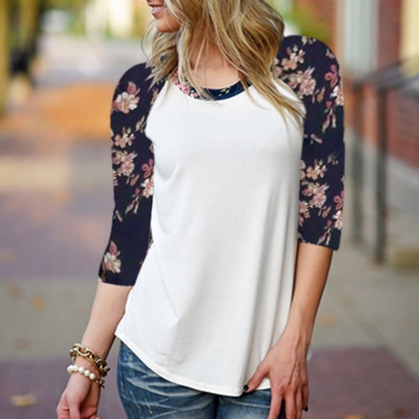 Bluzka floral