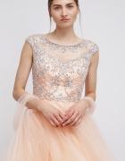 Luxuar Fashion Sukienka koktajlowa apricot