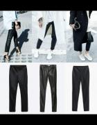 Skorzane spodnie