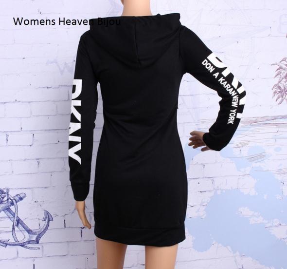60beece7e24de Bluza sukienka DKNY w Bluzy - Szafa.pl