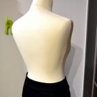 Spódnica VILA czarny makowy trapezowa S