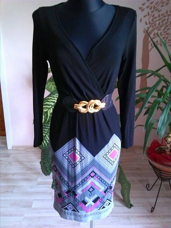 Suknie i sukienki śliczna sukienka długi rękaw