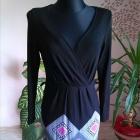 śliczna sukienka długi rękaw