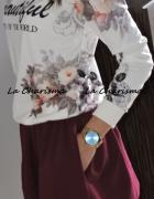 Bluza print floral