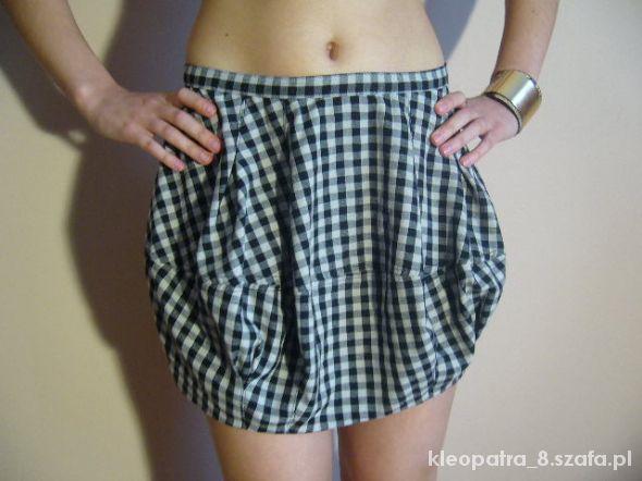 Spódnice TOPSHOP 38 spódniczka w kratę
