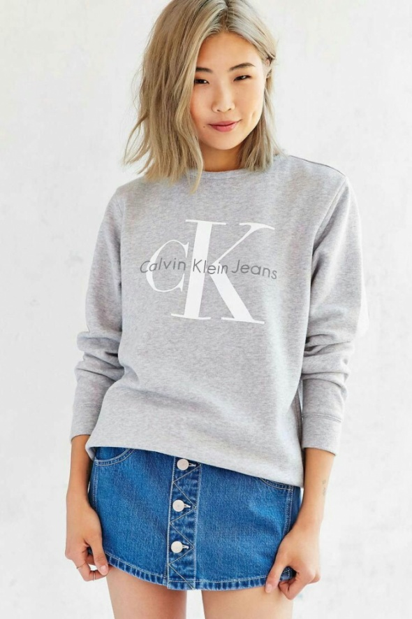 d6ac597edd3fd bluza Calvin Klein. Ubrania bluza Calvin Klein