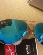 Okulary Ray Ban blue avator
