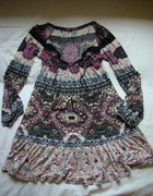sukienka w stylu hippie boho