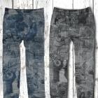 Legginsygetry jak jeans kolorywzory