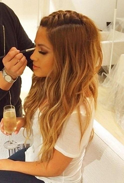 nice hairlook
