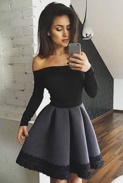 Szara Sukienka Jakie Dodatki Nowości 2019 Szafapl