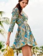H&M sukienka blogerska vintage