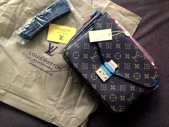 e68e1e704647d LV torba METIS LUIS VUITTON logo brown HIT w Torebki na co dzień ...