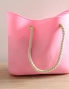 Kupię torebkę O Bag Jelly Bag róż fuksja inne