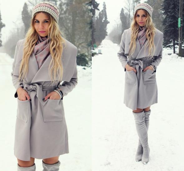 Blogerek Grey total look