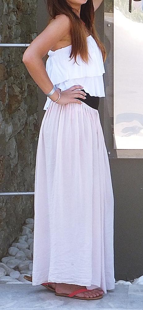 Romantyczne Spódnica Maxi LATO