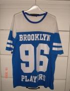 Koszulka z numerem niebieska
