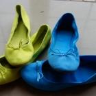 kolorowe baletki baleriny hm 38