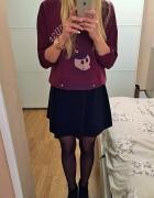 bluza i spódnica to idealne połączenie