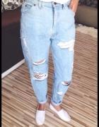 spodnie jeansy boyfriend Levis...