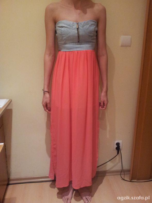 Zwiewna letnia sukienka