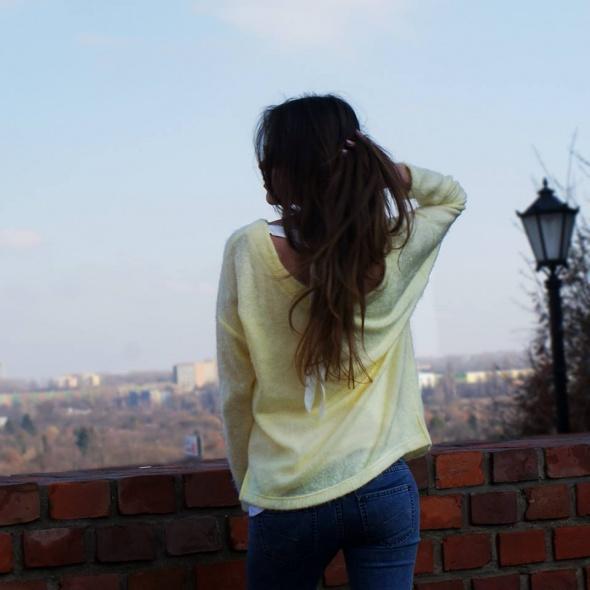 Codzienne Sweterek Cytrynowy