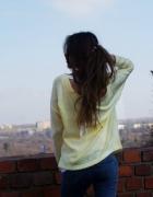 Sweterek Cytrynowy