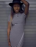 asymetryczna sukienka xs s