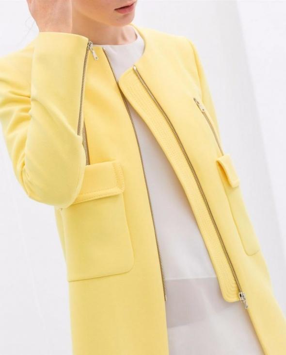 żółty płaszczyk rozmiar 38...
