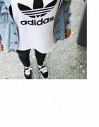 Koszulka biała adidas