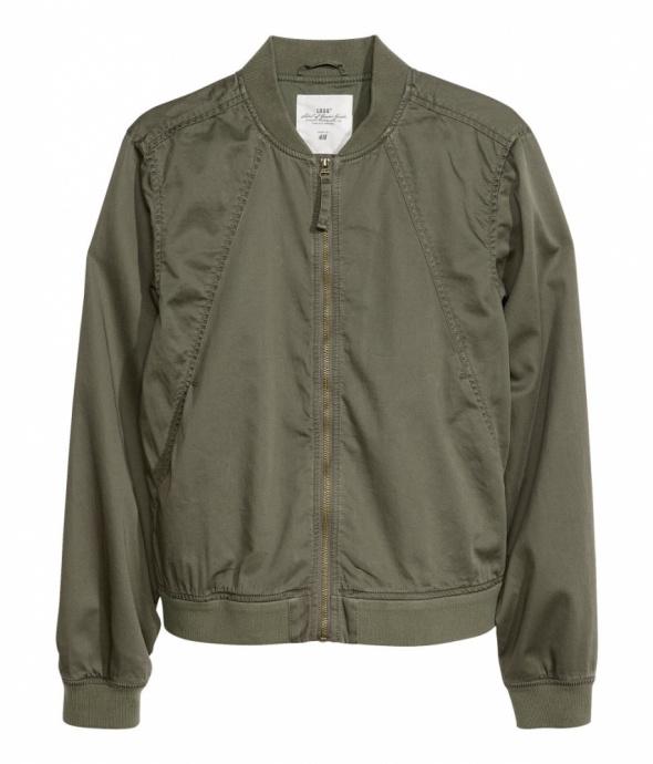 H&M kurtka pilotka bomber khaki...