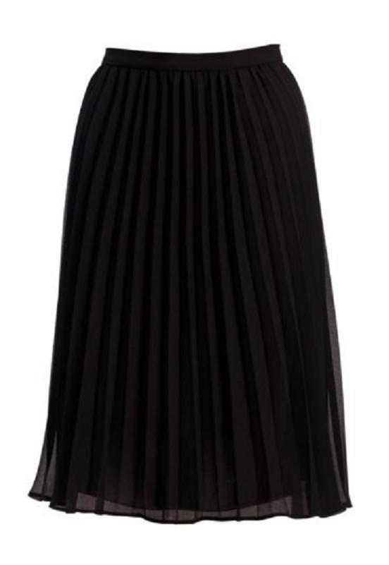 Spódnice czarna plisowana vintage retro