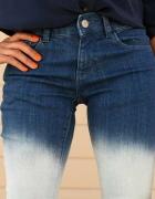spodnie jeans Ombre...