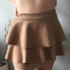 HIT NOWA zamszowa spódniczka TANIO