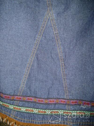 Spódnice OLDSCHOOLOWA spódnica jeans