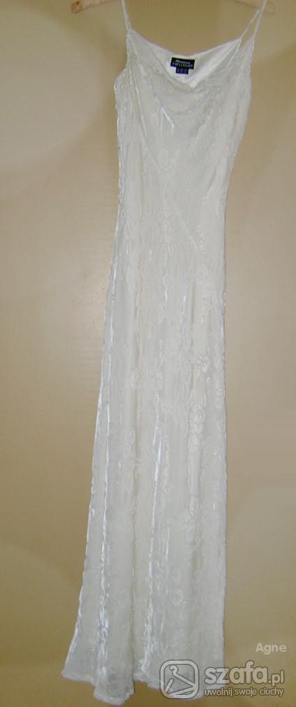 Suknie i sukienki Śniegowa suknia na różne okazje