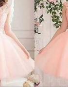 Suknia sukienka ślub wesele tiulowa tutu
