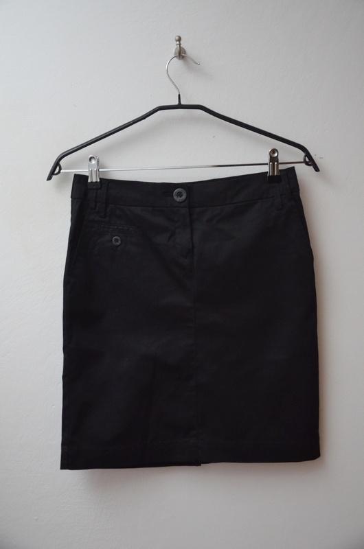 Spódnice Mango czarna klasyczna spódnica ołówkowa 34