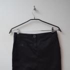 Mango czarna klasyczna spódnica ołówkowa 34