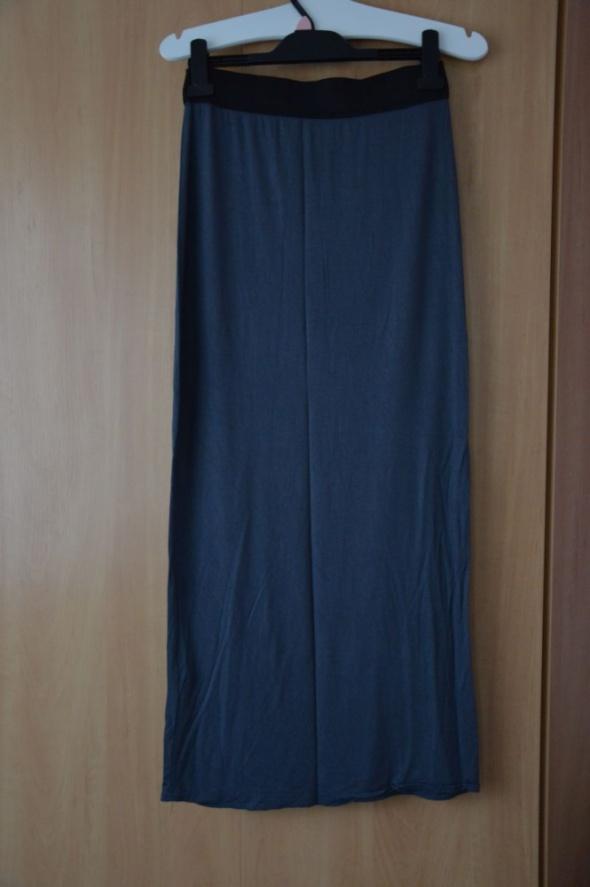 Spódnice spódnica maxi szara