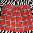 Spódnica Dorothy Perkins L w Czerwoną Kratę