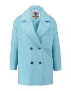 Płaszcz milusi pastelowy baby blue M