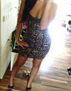 Sukienka w panterkę Tally Weijl
