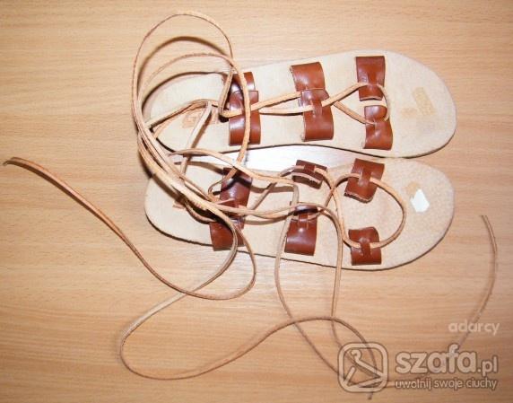Sandały jezuski rzemyki