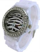 Zegarek Silikonowy Zebra